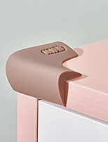 cheap -upgraded silicone corner protectors, baby proofing table edge guards cushion, pre-tape adhesive soft covers for kids safety proof, child cabinets fireplace furniture wall bumper (coffee silicone)
