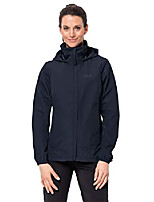 cheap -women's stormy point women's waterproof rain jacket 100% pfc free, midnight blue, x-small