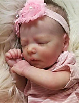 cheap -17.5 inch Reborn Doll Baby & Toddler Toy Baby Girl Reborn Baby Doll Saskia Newborn lifelike Hand Made Simulation Floppy Head Cloth Silicone Vinyl with Clothes and Accessories for Girls' Birthday and