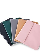 cheap -Sleeves Solid Colored PU Leather for MacBook Air 13-inch MacBook 12'' New MacBook Pro 13-inch