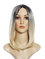 cheap -Synthetic Wig Curly kinky Straight Pixie Cut Wig Short Light Blonde Wine Red Pink+Red Silver grey Mint Green Synthetic Hair 12 inch Women's Fashionable Design Soft Easy to Carry Blonde Green