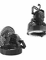 "cheap -led lantern, 2 in 1 battery powered fan and lantern outdoors (emergency light, portable fan, camping gear for hiking, fishing, and outages), black, 6.25"" x 6.25"" x 7"" (75-cmp1026)"