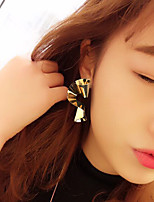 cheap -Women's Drop Earrings Hoop Earrings Earrings Chandelier Stylish Punk Trendy Cute Cool Earrings Jewelry Gold For Street Engagement Date Birthday Festival 1 Pair