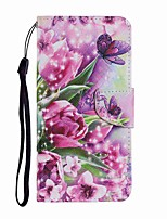 cheap -Case For Samsung Galaxy Note 20 Ultra Galaxy S20 Ultra Wallet Card Holder with Stand Full Body Cases Rose Butterfly PU Leather TPU for Samsung Galaxy A71 Note 20 A21S A51 A70 A30 A50 A20S S20