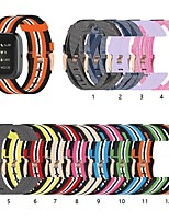 cheap -Watch Band for Fitbit Versa / Fitbi Versa Lite / Fitbit  Versa 2 Fitbit Classic Buckle Nylon Wrist Strap