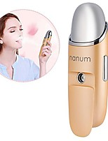 cheap -nano facial mister & hydrating face sprayer portable rechageable facial steamer moisturizing face massager moisture tester for home, office and outdoor(red)(yellow)