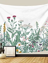 cheap -floral botanical tapestry herbs wildflower plant wall hanging flower aesthetic tapestry decor for bedroom dorm & #40;large-79 x 59 in& #41;