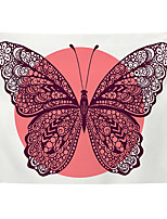 cheap -Wall Tapestry Art Decor Blanket Curtain Picnic Tablecloth Hanging Home Bedroom Living Room Dorm Decoration Polyester Sun Butterfly Views