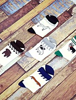 cheap -Men's Medium Socks - Cartoon Black Green Brown One-Size