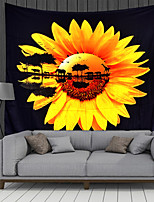 cheap -Wall Tapestry Art Decor Blanket Curtain Picnic Tablecloth Hanging Home Bedroom Living Room Dorm Decoration Polyester Sunflower Animal Water Reflection