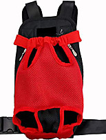 cheap -front pet carrier backpack adjustable chest rucksack for travel hiking camping outdoor legs out, easy-fit for small medium cats or dogs(black)