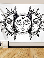cheap -Tarot Divination Wall Tapestry Art Decor Blanket Curtain Picnic Tablecloth Hanging Home Bedroom Living Room Dorm Decoration Mysterious Bohemian Moon Sun Star