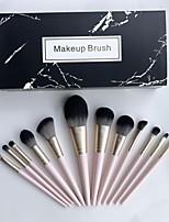 cheap -Makeup Brush Set 12Pcs Cosmetic Eyebrow Eyeshadow Brush Makeup Brush Sets Cosmetic Tools Kits