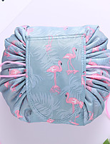 cheap -Travel Organizer Cosmetic Bag Travel Toiletry Bag Large Capacity Waterproof Travel Storage Durable Flamingo Animal Nylon For Men's Women's Portable Foldable Luggage