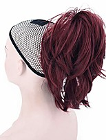 cheap -ponytail hair extensions messy short ponytail synthetic hair clip in ponytail (233)