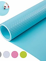 cheap -non slip water-poof shelf liner drawer liner cabinet liner non-adhesive for kitchen shelf drawer cabinet 17.7 x 177 inches - blue