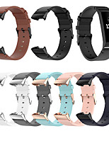 cheap -Watch Band for Fitbit Charge 3 / Fitbit Charge 4 Fitbit Sport Band Genuine Leather Wrist Strap