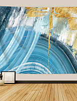 cheap -Wall Tapestry Art Decor Blanket Curtain Picnic Tablecloth Hanging Home Bedroom Living Room Dorm Decoration Polyester Print Beauty Striped Line Abstract View