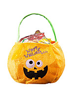 cheap -Unisex Bags Velvet Gift Bags Pattern / Print for Party / Halloween / Event / Party Black / Purple / Yellow / Orange