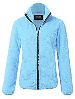 cheap -jayjay women athlete ultra soft fur fleece long sleeve jersey jacket,marinablue,2xl