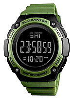 cheap -mens outdoor sport watches luxury brand men led digital watch waterproof date clock large dial military wristwatch (green)