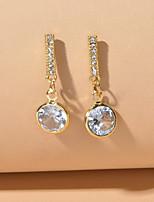 cheap -Women's Drop Earrings Classic Korean Sweet Earrings Jewelry Gold For Engagement Date