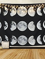 """cheap -moon constellations tapestry wall tapestry bohemian wall hanging tapestries wall blanket wall art wall decor beach tapestry sunset tapestry indian wall decor (moon phase change, 59.1"""" x 59.1"""")"""
