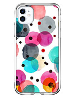 cheap -Unique Design Case For Apple iPhone 11 Pro Max / iPhone XR / iPhone XS Max Shockproof / Pattern Back Cover Color Gradient / Transparent TPU