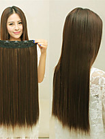 cheap -Synthetic Wig Straight kinky Straight Middle Part Wig Long Light Brown Synthetic Hair Women's Fashionable Design Soft Light Brown
