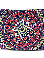 cheap -Wall Tapestry Art Decor Blanket Curtain Picnic Tablecloth Hanging Home Bedroom Living Room Dorm Decoration Polyester Bohemia Mandala Colorful View