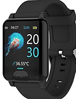 cheap -E04S Unisex Smartwatch Bluetooth Heart Rate Monitor Blood Pressure Measurement Calories Burned Thermometer Health Care ECG+PPG Pedometer Call Reminder Activity Tracker Sedentary Reminder