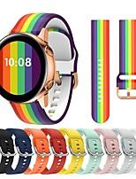 cheap -Watch Band for Samsung Galaxy Watch 46mm / Samsung Galaxy Watch 42mm / Samsung Galaxy Active Samsung Galaxy Modern Buckle Silicone Wrist Strap