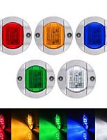 cheap -Boat Light LED 2PCS/4PCS 12V/24V 6 LED Boat Interior Light for Boat Deck LED Transom Mount Light LED Boat Courtesy Light. Perfect for Night Fishing