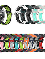 cheap -Watchband Strap for Samsung Galaxy Watch 3 41 45mm 42mm 46mm Gear S3 S2 Classic Galaxy Active 2/3 Sport Silicone Band Bracelet