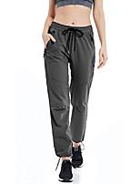 cheap -women's outdoor hiking pants lightweight quick dry cargo capri pants water resistant upf 50 zipper pockets(dark grey,xs)