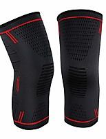 cheap -knee brace knee sleeves for men/women 1 pair red, large