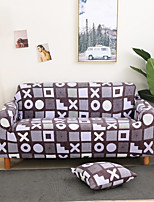 cheap -Stretch Slipcover Sofa Cover Couch Cover Grid Printed Sofa Cover Stretch Couch Cover Sofa Slipcovers for 1~4 Cushion Couch with One Free Pillow Case