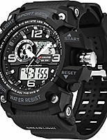 cheap -men's watches sports outdoor waterproof military watch date multi function tactics led alarm stopwatch litbwat