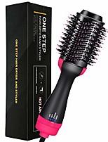 cheap -Hair Dryer Brush Hot Air Brush Hair Dryer & Volumizer 4 in1 Multifunctional Negative Ions Hair Blow Dryer Straightener Brush for All Hair Styles (black)