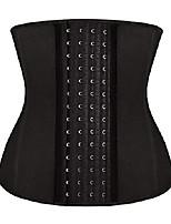 cheap -womens latex waist trainer underbust corset for weight loss body shaper sport girdle