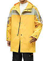 cheap -Men's Windbreaker Rain Jacket Summer Winter Outdoor Thermal Warm Waterproof Windproof Breathable Top Camping / Hiking Fishing Climbing ArmyGreen / Black / Yellow / Quick Dry / Quick Dry