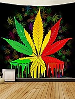 cheap -tapestry reggae rasta marijuana leaf weed tapestries wall hanging throw tablecloth 50x60 inches for bedroom living room dorm room