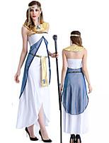 cheap -Goddess Retro Vintage Ancient Greek Vacation Dress Dress Outfits Masquerade Women's Costume White Vintage Cosplay Party Halloween Sleeveless / Headwear / Neckwear / Sash / Ribbon / Headwear
