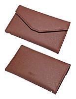 cheap -envelope wallet passport holder travel wallet tri-fold document organizer passport cover case for women,brown