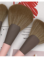 cheap -11 Pcs small pudding makeup brush set brush complete set for beginners