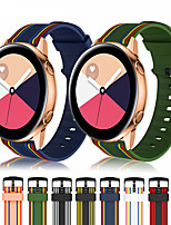 cheap -20mm 22mm Silicone Sport Strap Striped Rubber Replacement Band for Samsung Galaxy Watch 42mm 46mm S3 Active2