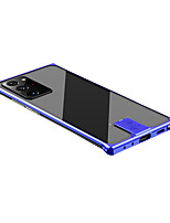 cheap -Case For Samsung Galaxy Note 20 Shockproof Transparent Back Cover Transparent Tempered Glass Metal Case For Samsung Galaxy Note 20 Ultra S20 Ultra S20 Plus S20 Note 10 Plus Note 10 S10 Plus S10 Note 9