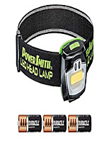 cheap -powersmith phl23frgs led 230 lumen motion-sensor activated weatherproof headlamp with adjustable head strap, high, low, and strobe modes, and 3 aaa batteries