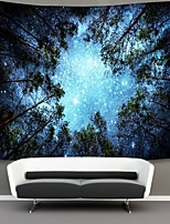 cheap -Wall Tapestry Art Decor Blanket Curtain Picnic Tablecloth Hanging Home Bedroom Living Room Dorm Decoration Polyester Tree Sky Star