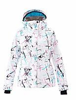 cheap -women's ski jackets windproof waterproof snowsuit (color01, m)